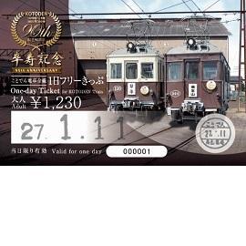 2016年度版1日フリーきっぷ