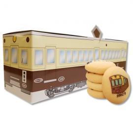 ことでんレトロ電車チョコインクッキー